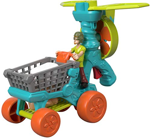 Fisher-Price Imaginext Scooby-Doo Shaggy's Ultra Lite - Figures, Multi Color ()