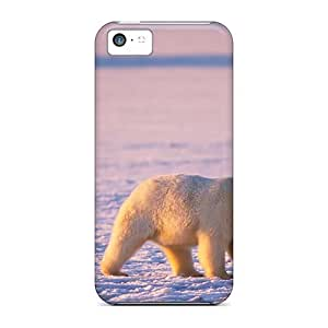 Tpu Shockproof/dirt-proof Artic Cover Case For Iphone(5c)
