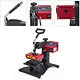 VEVOR Pen Heat Press 300W 6PCs Ballpoint Heat Transfer Machine 6IN1 Digital Pen Heat Press for DIY Pen Printing (6pcs Pen Press)