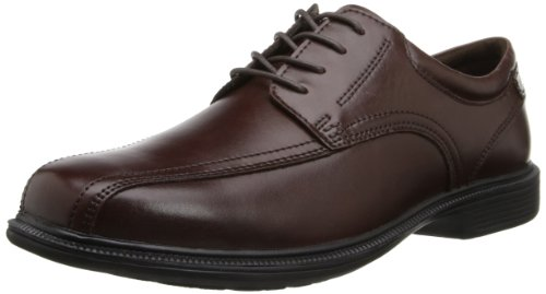Nunn Bush Men's Bartole ST Oxford,Brown,11 M US - Men Dress Shoes Slip