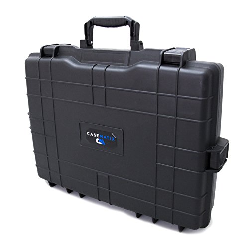 CASEMATIX Heavy Duty Channel Effects Mixer Case Fits Mackie Mix Series Mix12FX , PROFX8V2 , 1402VLZ4 , 1202VLZ4 USB Mixers and Mowered Mixers , Cables , Adapters , Power Supply and More Accessories by CASEMATIX