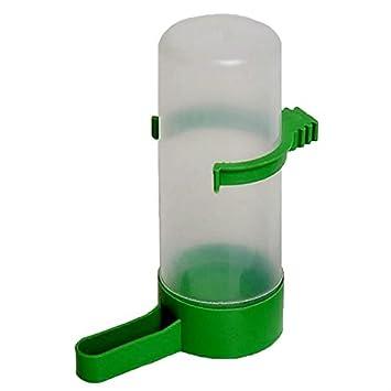 bluemoo 1pieza Botella de agua potable dispensador Comedero para pájaros Periquito Canario cacatúas: Amazon.es: Productos para mascotas