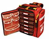 MobileAid Professional Trauma First Aid Backpack (with 6 medical supplies pouches) (31400)
