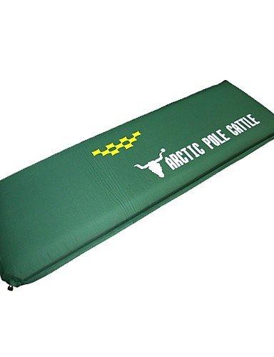 ZQ Aufgeblasene Matte/Camping Polster/Schlafpolster ( Armeegrün ) - Feuchtigkeitsundurchlässig/Wasserdicht - PVC