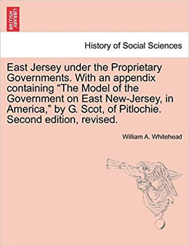 East Jersey under the Proprietary Governments