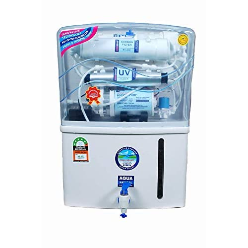 SI Metal ™ Aqua Graned Plus RO+UV+TDS Advance Technology Electric Water Purifier With Metallic Sheet for Home – 12 liters