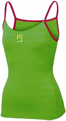 Karpos Bull Sun Top Women - Apple Green/Raspberry