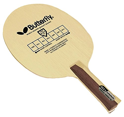 Butterfly Andrzej Grubba AN Blade with Sriver EL 2.1 Red/Black Rubbers Pro-Line Table Tennis Racket