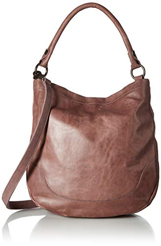 Frye Melissa Leather Hobo, lilac, One Size