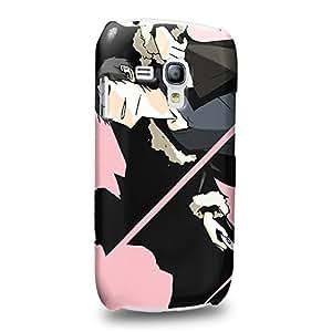 Case88 Premium Designs Durarara!! Mikado Ryugamine Tanaka Taro 1537 Carcasa/Funda dura para el Samsung Galaxy S3 mini (No Normal S3 !)