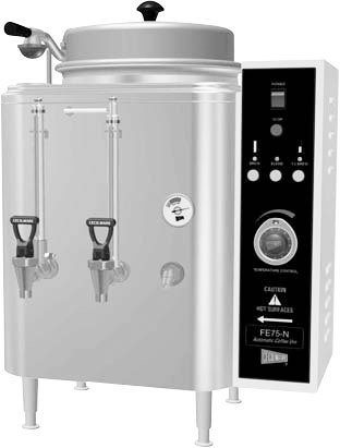 (Grindmaster Cecilware CH75N 120/208/240V 1ph Single 3 Gallon Chinese Hot Tea Urn)