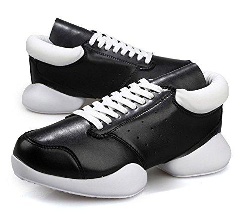And Black Alte Scarpe Un Cavallo Ms White Autunno A Con Ferro Sneakers Ascensore Di Paio 7qqwRUOp
