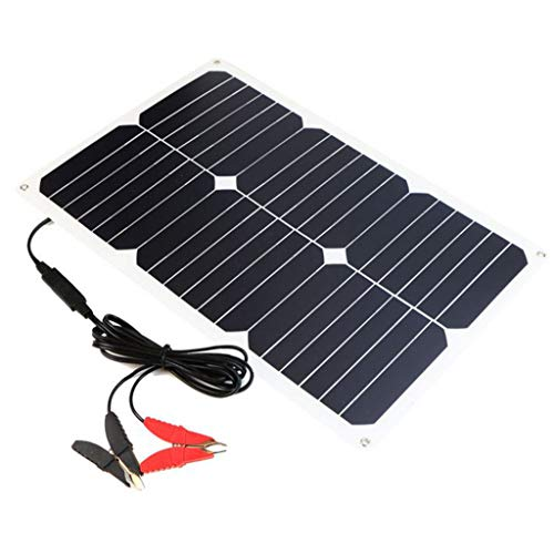 GXOK ALLPOWERS 21W Portable Highly Efficient Foldable and Waterproof Solar Panel,Cigarette Lighter,Folding Solar Panel for Travel