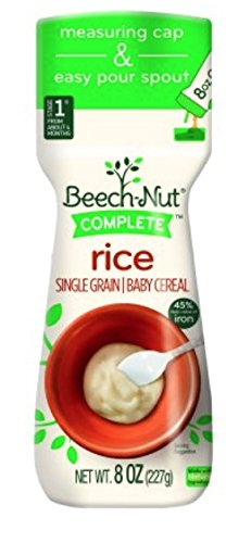 6 Pack Beech-Nut Complete Single Grain Rice Baby Cereal