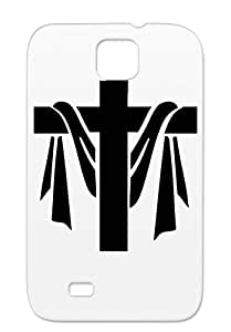Religion Party Cross Philosophy Crosses Easter Fun Christmas Crazy Miscellaneous God Angel Church Black For Sumsang Galaxy S4 Case