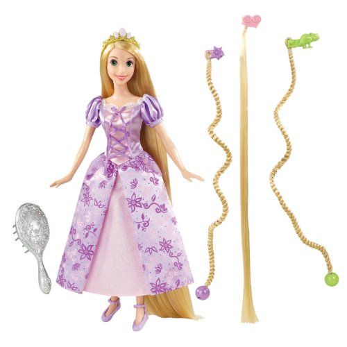 Mattel Disney Tangled Featuring Rapunzel Bend and Style Doll