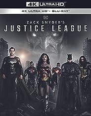 Zack Snyder's Justice League 4K Ultr