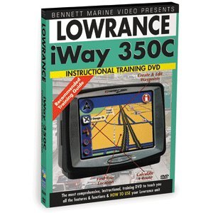 Price comparison product image DVD,  Lowrance Iway 350C