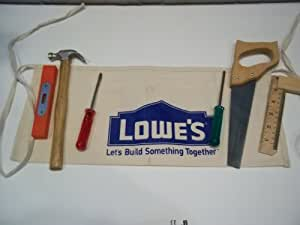 Kids Tool Apron Set Hammer Saw Screwdrivers Level Angle Ruler True Tools Home Cloth