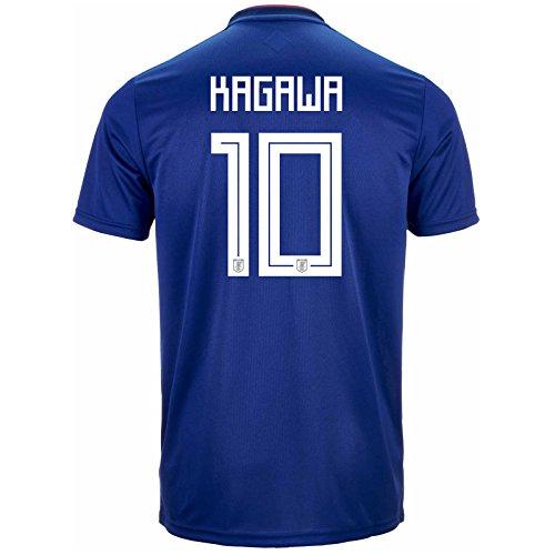 孤児エレメンタル残酷なadidas Men's KAGAWA # 10 Japan Home Soccer Stadium Jersey World Cup Russia 2018/サッカーユニフォーム 日本 香川選手