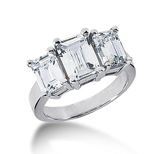 3.5 Ct Emerald Diamond - 9