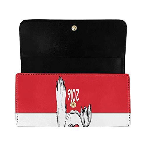 - InterestPrint Women's Long Clutch Wallets Cute French Bulldog Trifold Card Holder Handbags