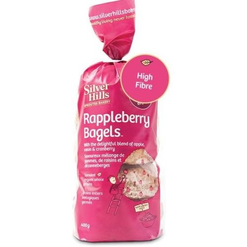 Price comparison product image Silver Hills Bakery Organic Rappleberry Sprouted Bagels, 14 Ounce -- 8 per case.