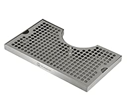Beer Drip Tray Stainless Surface Mount 3\