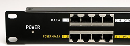 WS-POE-16-1U passive PoE - 16 Port Power over Ethernet Injector - Rack Mount, Power Supply NOT Included by WiFi-Texas (Image #1)