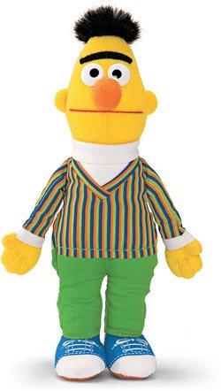 - Sesame Street Bert Walking Finger Puppet