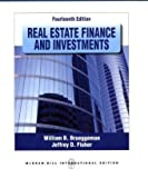 img - for Real Estate Finance and Investments by William B Brueggeman (2010-12-23) book / textbook / text book