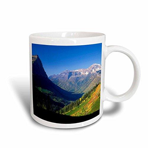 3dRose mug_144751_2 Logan Pass, Glacier National Park, Montana, USA Us27 Aje0112 Adam Jones Ceramic Mug, 15-Ounce ()