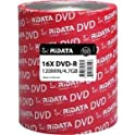 100-Pack RiDATA DRD-4716-RD100ECOW 4.7GB DVD+RW DVD Spindle