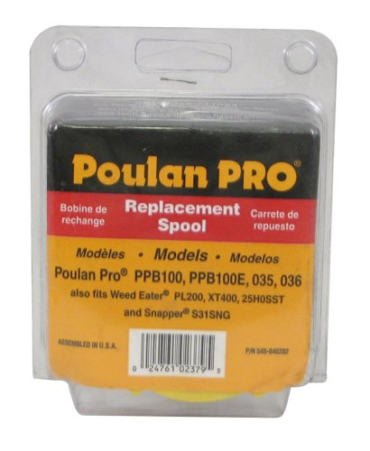 Poulan Pro String Trimmer Spool for PP035, PP036 .080-Inch 952711624