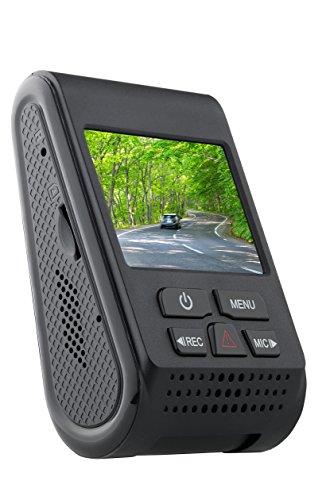 SpyTec A119_NOGPS Version 2 Car dashcam 60 FPS 1440p Dashboard Video Recorder w/ Night Vision G-Sensor Loop ()