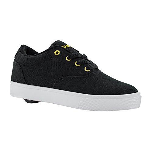 Heelys Wheel - Heelys HE100072H Kid's Launch Sneakers, Black/Gold - 1