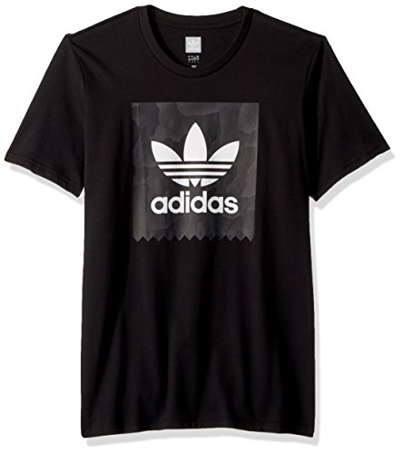Blackbird Black Originals white Skateboarding Warp Adidas Xl Print Tee Men's RtqTxRvPw