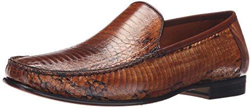 Mezlan Men's Dali Slip-On Loafer, Multi/Tan, 11.5 M US