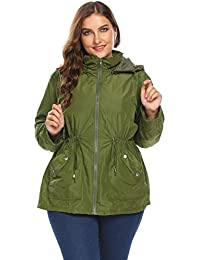 Amazon.com: Plus Size - Raincoats / Trench, Rain & Anoraks ...