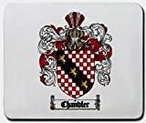 Chandler Family Shield / Coat of Arms Mouse Pad