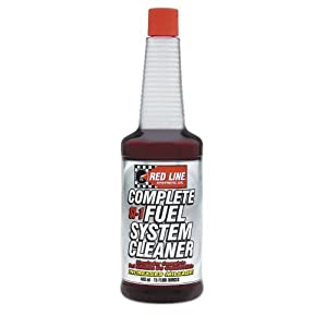 Red Line 60103-4PK Complete SI-1 Fuel System Cleaner - 15 Ounce, (Pack of 4) by Red Line Oil