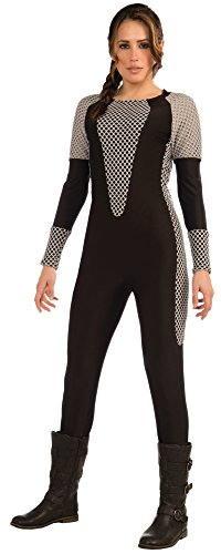 Forum Novelties Women's Costume Jumpsuit, Black/Gray,