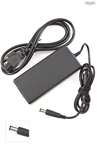 Ac Adapter Charger replacement for HP Pavilion dv6-1036us dv6-1038ca dv6-1045eo dv6-1050us dv6-1055ee dv6-1100 dv6-1101tx dv6-1102tx dv6-1103ee dv6-1108ca dv6-1120ec dv6-1122us Laptop Notebook Battery Power Supply Cord Plug (1 Free Usmart Euro Plug Travel Attachment with your Order) ()