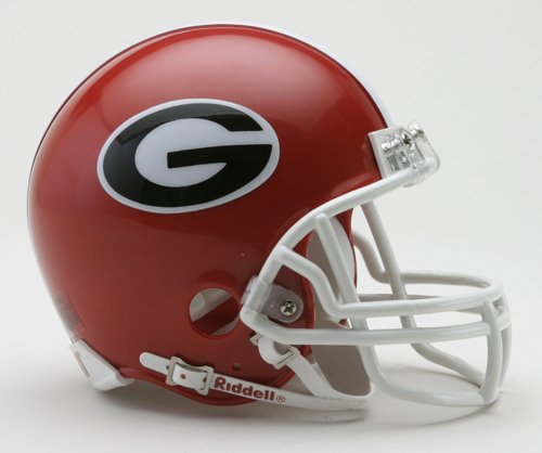 NCAA Georgia Bulldogs Replica Mini Football Helmet