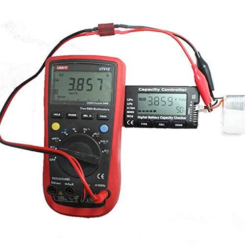 V/érificateur de capacit/é de Batterie num/érique Gtpower Compteur de cellules F01974