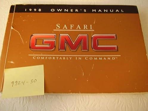 1998 gmc safari owners manual gmc amazon com books rh amazon com 1998 GMC Safari Van Problems 1998 GMC Safari Interior