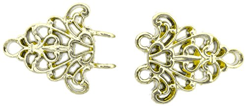 Gold Filigree Trivet Cloak Clasp ()