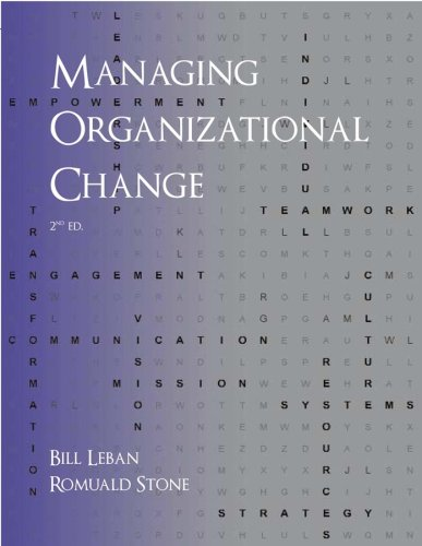 Managing Organizational Change, Second Edition