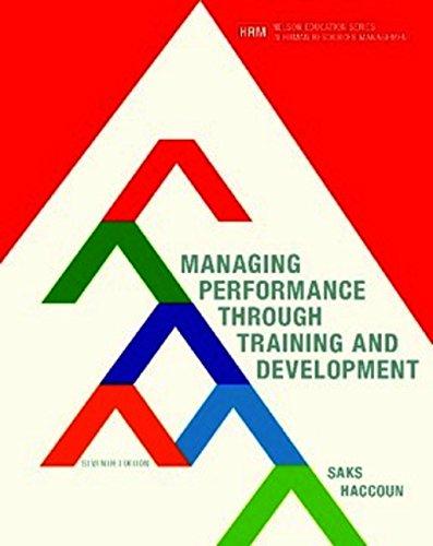 managing performance through training and development 7th edition ebook