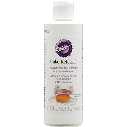Wilton Cake Release Pan Non-Stick Coating, 8 fl. oz